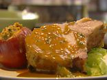 Roast Pork Loin with Apples (Food Network Kitchen)