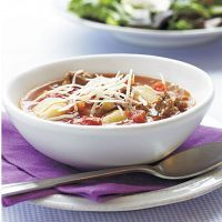 Turkey Sausage and Gnocchi Soup