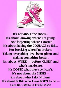 The Running Shoes Poem