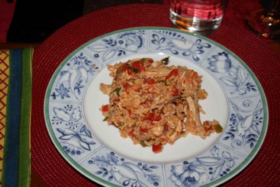 Spanish Rice adapted from DASH