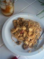 tomato and mushroom pasta