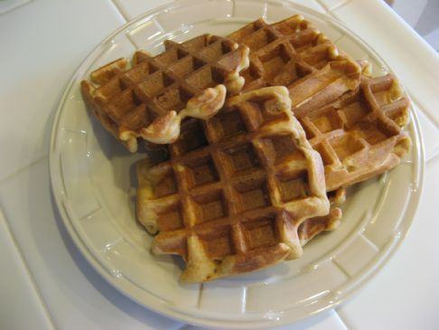 Seriously Whole Grain Blender Waffles