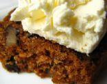 Mama CD's High Fibre Carrot Cake