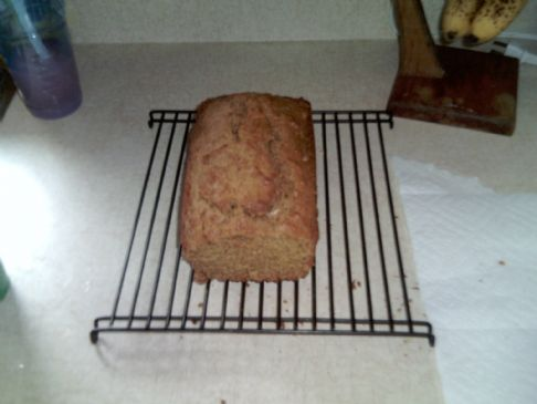 Whole Wheat Low-Sugar Spice Bread