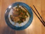 Amy's Tofu and Veggie stir-fry