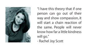 rachel scott chain reaction essay