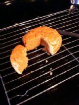 Sweet Potato Protein Cake