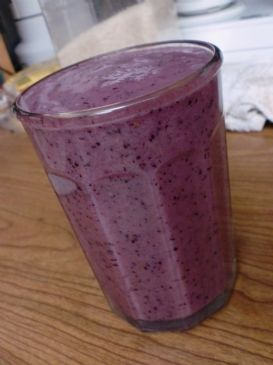 Blueberry Fruit Blast Smoothie