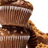 Apple cinnamon oat-bran muffins