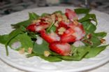 Low fat Strawberry Poppy seed salad