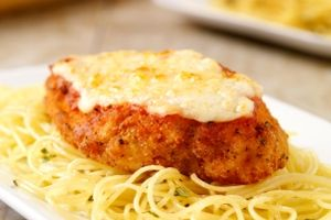 Unbelievably Easy Chicken Parmesan