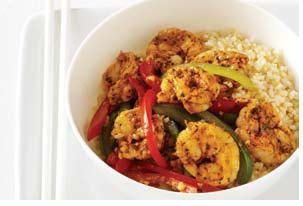 Shrimp & Vegetable Stir Fry