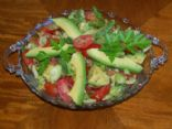 Avocado, Tomato and Cucumber Medley
