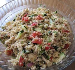 Bulgar Greek Salad