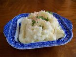 Low Fat Garlic Whipped Potatoes