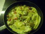Red Potato, Bell Pepper, Tomato, Mushroom, Veggie Omelet