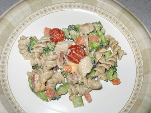 Tammy's Easy Healthy Chicken Pasta Salad