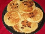 Martha White Chocolate Chip Muffin Mix Pancakes (using 7.4oz-209g pkg)