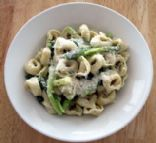 Cheese Tortellini with Asparagus