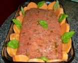 Donnie's Apricot Spinach Turkey Meatloaf Roll