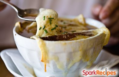 French Onion Stout Soup