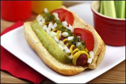 Hungry Girl's Chicago Dog (not mine from HG)