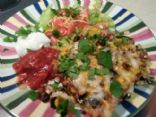 MAKEOVER: Low Sodium Weight Watcher's Mexican Casserole (by GILLYWEED63)