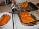 rayne's low carb spaghetti squash au gratin