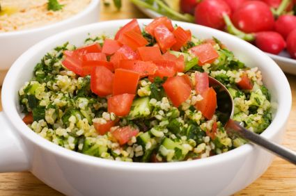 Easy Bulgur Salad
