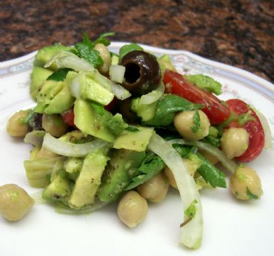 how to prepare dry chickpeas for salad