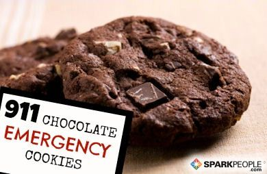 911 Chocolate Emergency Cookies