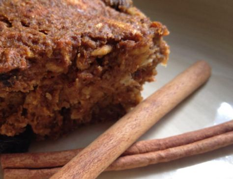 Pumpkin protein fiber bars