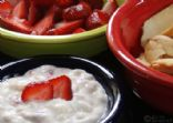 Quick & Easy Sour Cream Fruit Dip