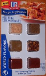 MAKEOVER: Chicken Tikka Masala McCormick spice Recipe (w/ healthy alternatives) (by TECHIECHI)