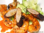 HCG Phase 2 - Cajun Shrimp and Sausage with Steamed Cabbage