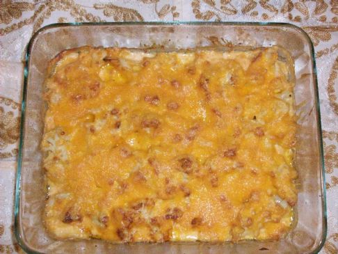 George Stella's Cauliflower Mac and Cheese Casserole