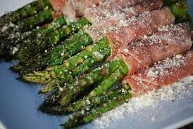Asparagus Ham & Onion Appetizer