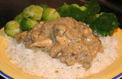 Quick and Easy Creamy Mushroom Chicken