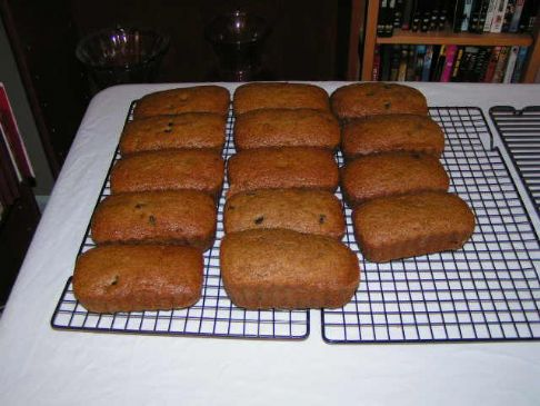 Oatmeal Choc Chip Pumpkin Bread v5