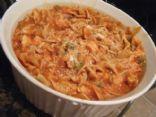 Cacciatore Noodle Casserole
