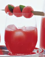 Watermelon Sangria (Eat Clean)
