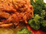 Spicy CrockPot Thai Chicken