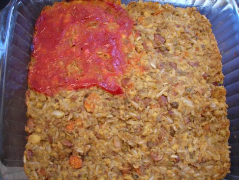 Cheap, Quick Lentil Loaf
