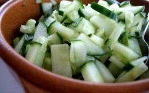 ~Amazing~ Cucumber Cottage Cheese Pita lunch