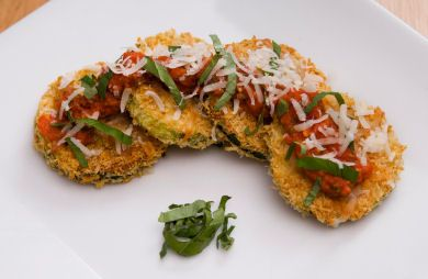 Parmesan Zucchini Crisps