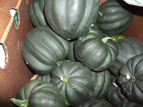 Curried Acorn Squash ~ Microwave