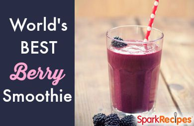 5-Minute Berry Smoothie