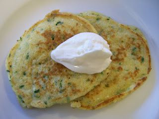 Shelly's Potato-less Potato Pancakes