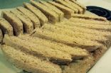 low fat Almond anise wheat biscotti