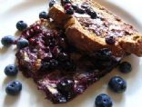 Easy, Healthy, No-Sugar Blueberry French Toast